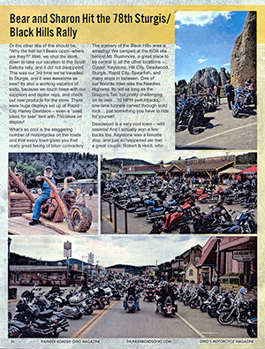 78th Sturgis/Black Hills Rally